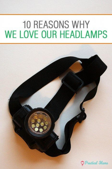 Uses of headlamp