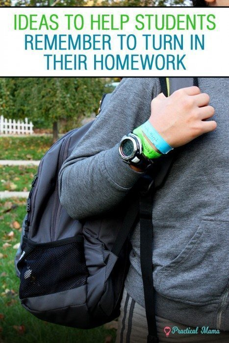 Homework Reminder Ideas