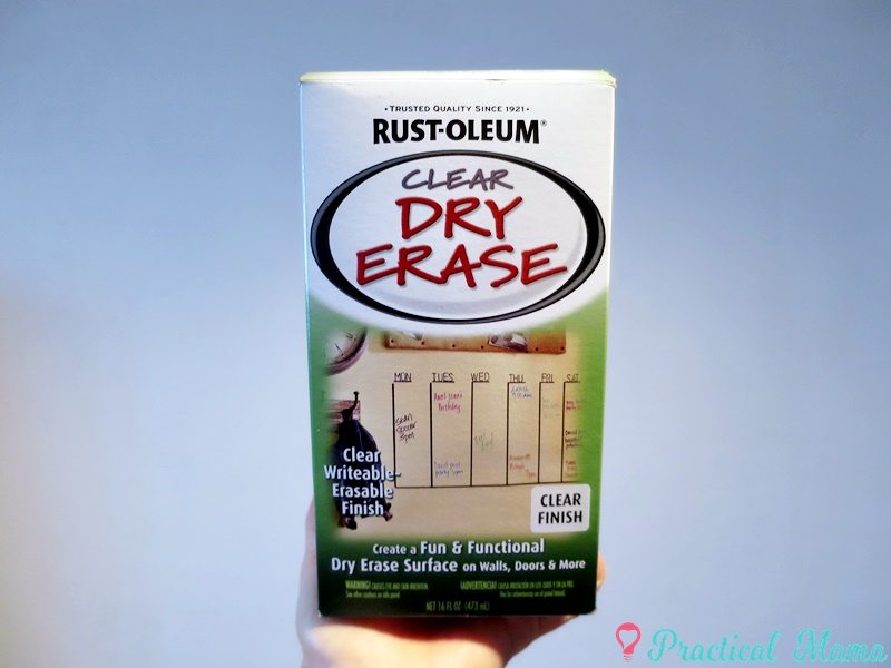 i went ahead and purchased a new dry erase paint from rustoleum there are two types of dry erase paint by rustoleum rustoleum rustoleum kit - Dry Erase Board Paint