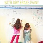 DIY: Dry erase whiteboard wall