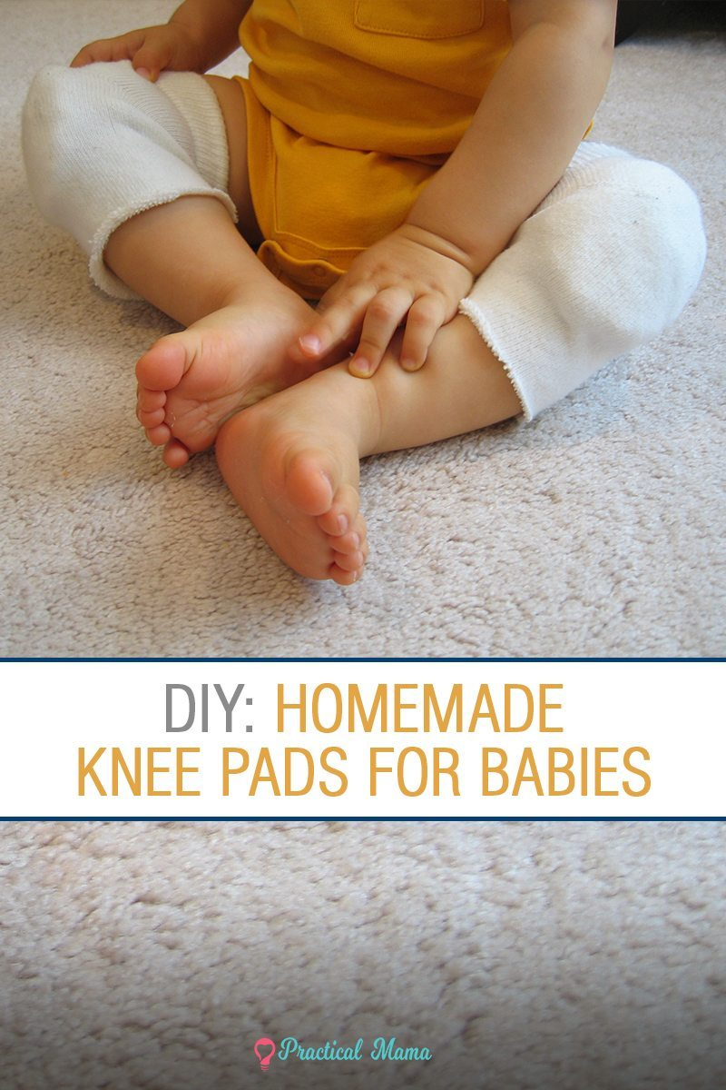 diy baby knee pads for crawling