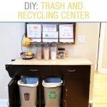 DIY: Trash and Recycling Center