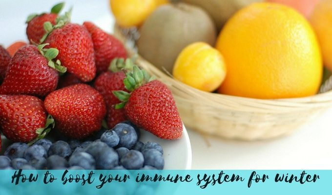 How to boost your immune system for winter