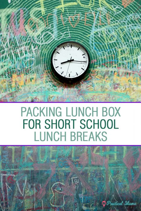 tips for short lunch breaks slow eaters