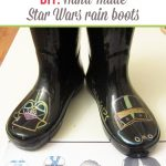 DIY: Hand-made Star Wars rain boots