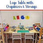 DIY - LEGO table and storage