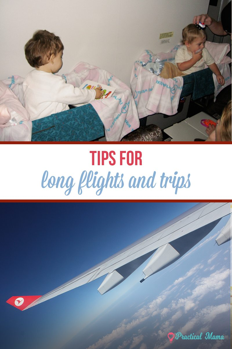 tips for long trips and flights with babies