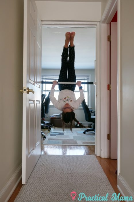 Hack A Pull Up Bar To Use As Gymnastics Training Bar For Kids