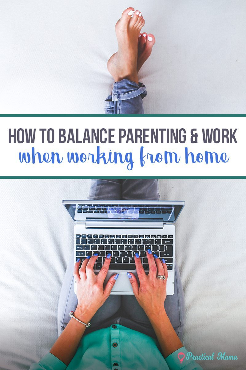 balance for work at home parent
