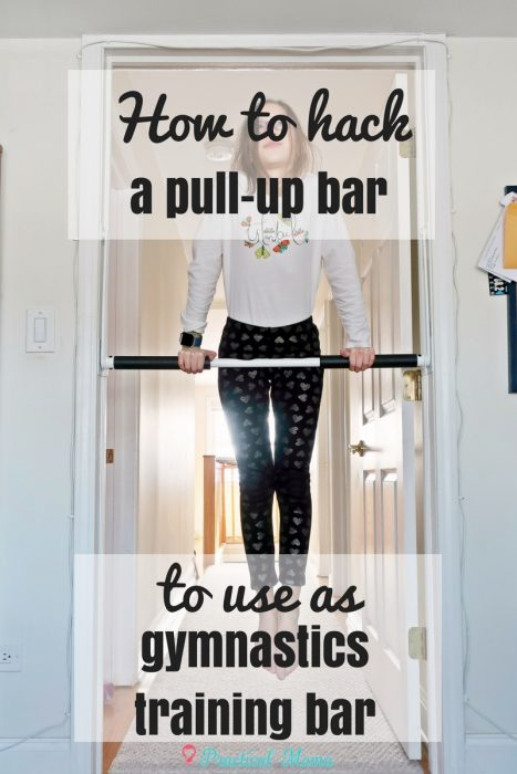 gymnastics training bar