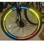 bike reflective stickers