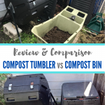 Compost tumbler vs compost bin: product review and comparison