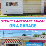 Scenic Landscape Garage Mural