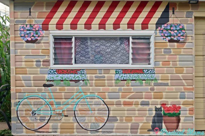 Stonehouse Garage Mural