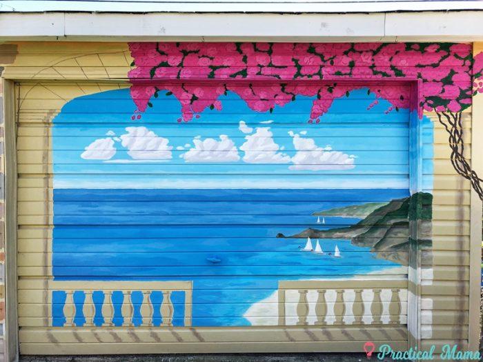 Scenic Garage Mural