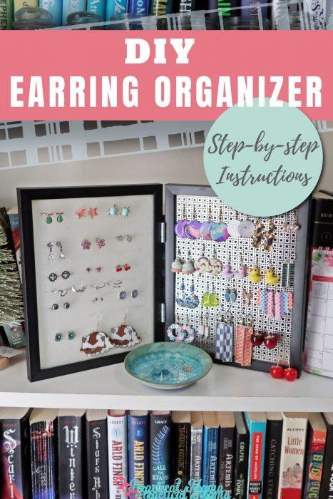 DIY Earring Holder Organizer